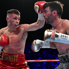 Ambition: Ryan Burnett has an intense desire to succeed