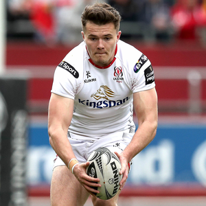 Run of form: After making his Ireland debut in the summer, Jacob Stockdale could be in line to face South Africa