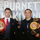 Ryan Burnett and Zhanat Zhakiyanov. Picture by Jonathan Porter/PressEye.com
