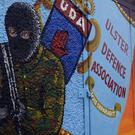 A UDA recruitment mural in Carrickfergus