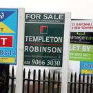 The average house price in Northern Ireland is now £129,000, official figures show.