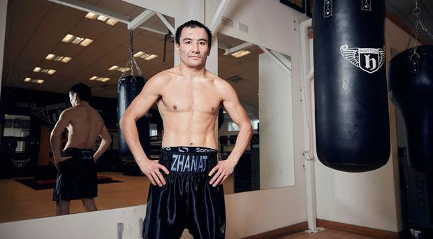 In top shape: Zhanat Zhakiyanov