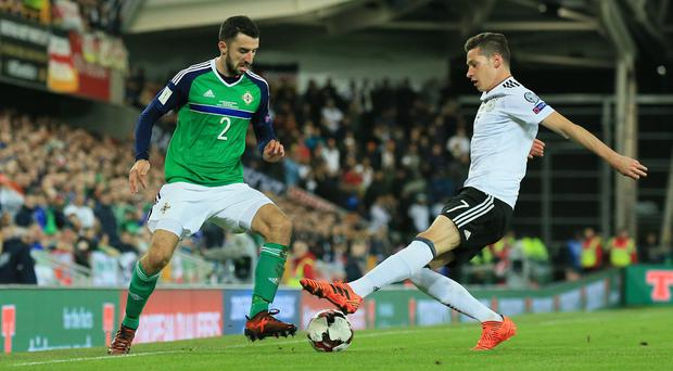 Northern Ireland's Conor McLaughlin.