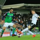 Northern Ireland's Conor McLaughlin will come up against Chorley FC in the FA Cup next month.