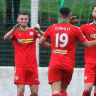Dynamic duo: Rory Donnelly and Joe Gormley are starting to find their feet back at Cliftonville