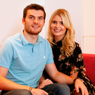 Philip Lowry and wife Elaine in their Belfast apartment