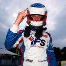Raring to go: Daniel Harper is out to impress Porsche chiefs