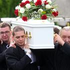 Funeral of 10-year-old Ryan Busa who died last weekend after a suspected dog attack at his home in Newtownabbey. / Credit: Pacemaker