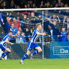 Shake it off: Jamie McGonigle has called on Coleraine to put their cup defeat behind them