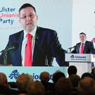 Ulster Unionist Party conference at the Armagh City Hotel. Photo by Kelvin Boyes / Press Eye.