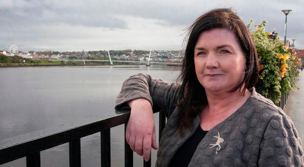 Battling on: Pauline McCann had the first symptoms of SAD in her mid-20s