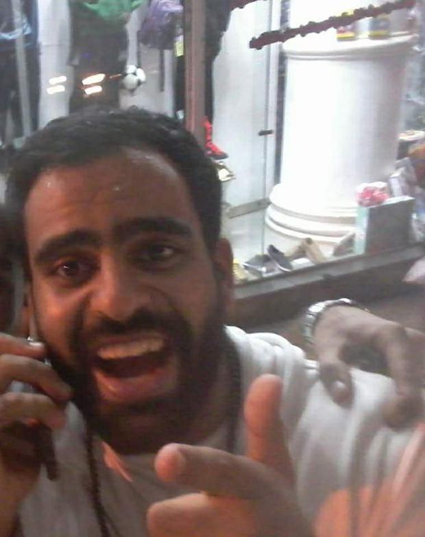 Ibrahim Halawa after being released from prison in Egypt / Credit: Free Ibrahim Halawa FB page