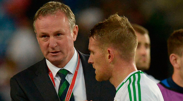 Who did Michael O'Neill and Steven Davis vote for in this year's FIFA awards?