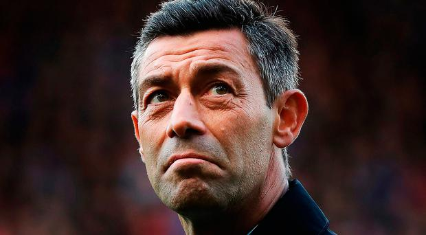 Punishment: Pedro Caixinha is facing a one-game ban