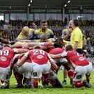Put in: Ulster were unable to get the better of a top La Rochelle side
