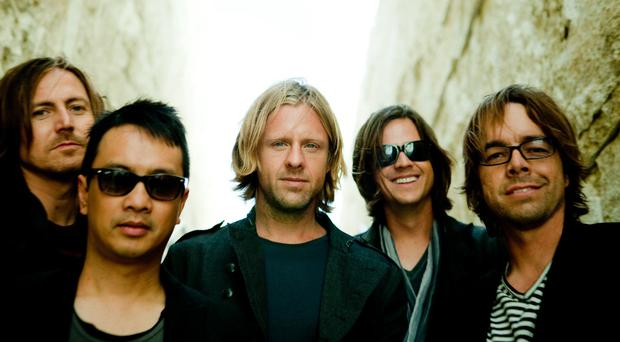 Pictured: US rockers Switchfoot