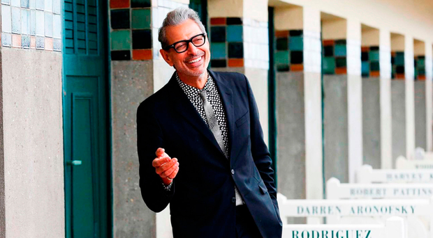 Charming man: Jeff Goldblum