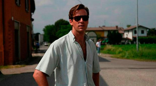 Bittersweet tale: Armie Hammer in Call Me By Your Name
