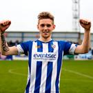Pen to paper: Jamie McGonigle has signed contract extension