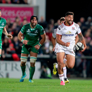 Looking ahead: Charles Piutau is confident Ulster can bounce back from their French horror show against Leinster at the Kingspan Stadium
