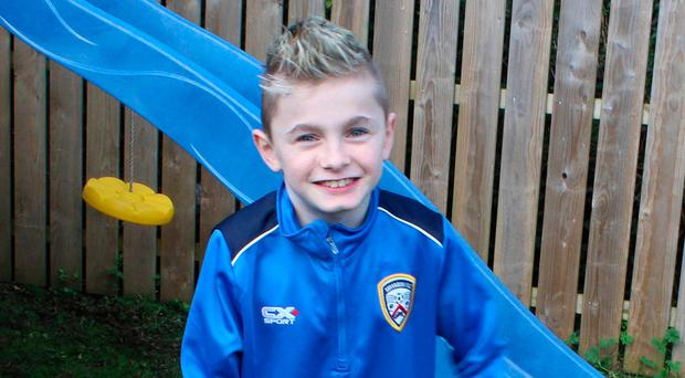 Cerebral palsy sufferer Oliver Dickey