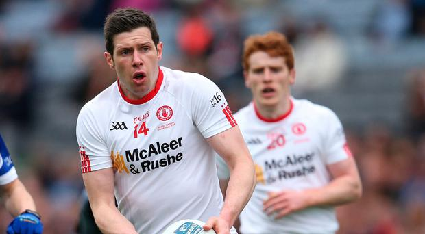 Up for the challenge: Sean Cavanagh is eager to impress