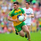 On target: Patrick McBrearty scored eight points yesterday