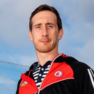 Wise head: Colm Cavanagh played a key role in Moy's quarter-final victory