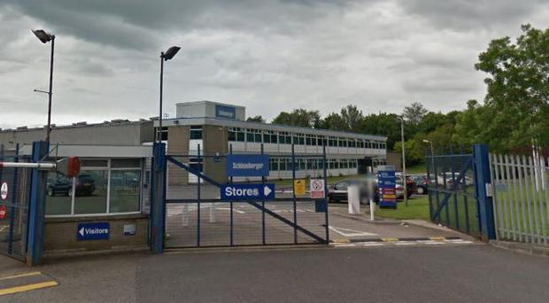 The Schlumberger plant in Newtownabbey. Photo: Google Maps