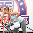 Quick pace: People taking part in a F45 class