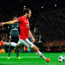 Spot on: Daley Blind seals United victory
