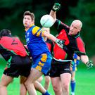 New ball game: Peadar Heffron in action for the PSNI Gaelic side in 2006
