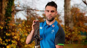 Main man: Conor Murray and his Ireland Player of the Year prize