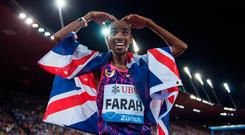 New direction: Mo Farah has turned to Ulsterman Gary Lough