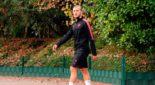 In the frame: Jack Wilshere has been pushing for an England recall