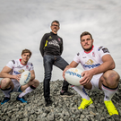 New surroundings: Andrew Trimble, Les Kiss and Sean Reidy are relishing their South Africa adventure