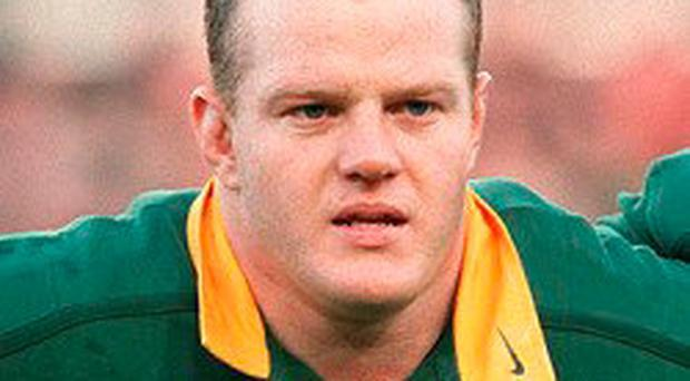 Blast from the past: Robbi Kempson is an ex-Ulster star