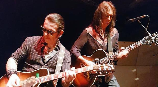 Ricky Warwick and Damon Johnson.