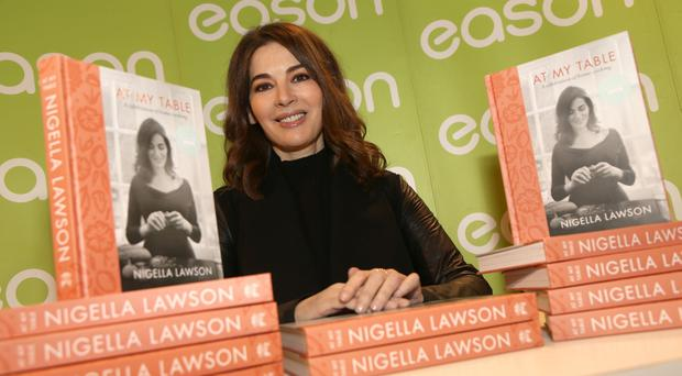 Celebrity chef Nigella Lawson in Belfast to launch her new cookery book. (Pacemaker/Stephen Davidson)