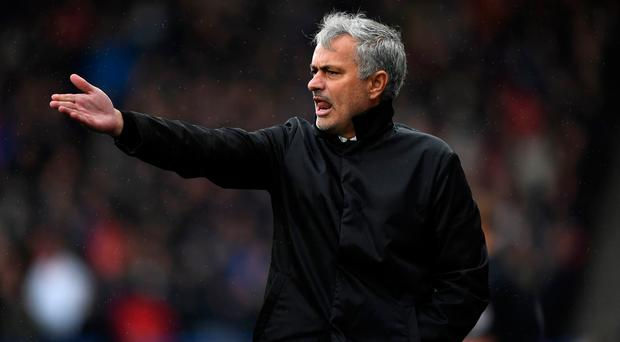 Irked: Manchester United manager Jose Mourinho has come under criticism for his side's style of play