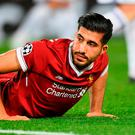 Emre Can has just seven months left on his Liverpool contract