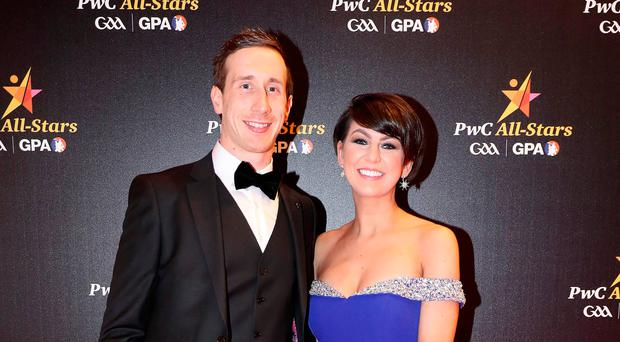 Star couple: Colm and Navina Kavanagh at the awards