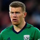 James McClean. Photo by Gareth Copley/Getty Images