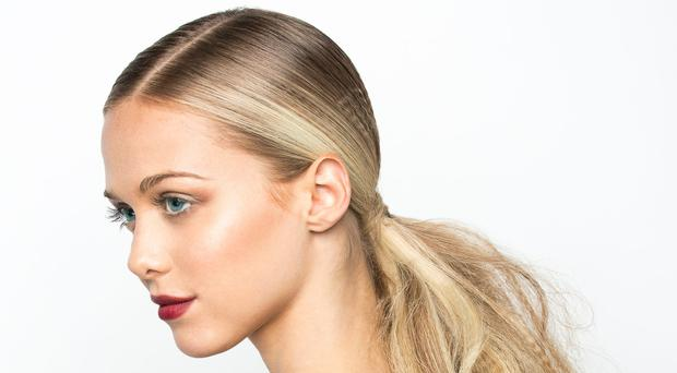 Pony express: tying your hair back can be a quick way to a great look