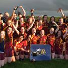 Just champion: St Macartan's ladies celebrate winning their first Ulster senior club crown at Emyvale
