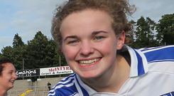 Vital strike: Barbara Ward's goal proved crucial for Corduff