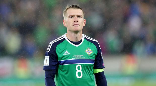 Northern Ireland captain Steven Davis