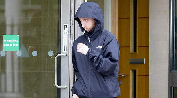 Robert Sharkey at Belfast Court on November 6th 2017 at a previous court appearance (Photo by Kevin Scott / Belfast Telegraph)