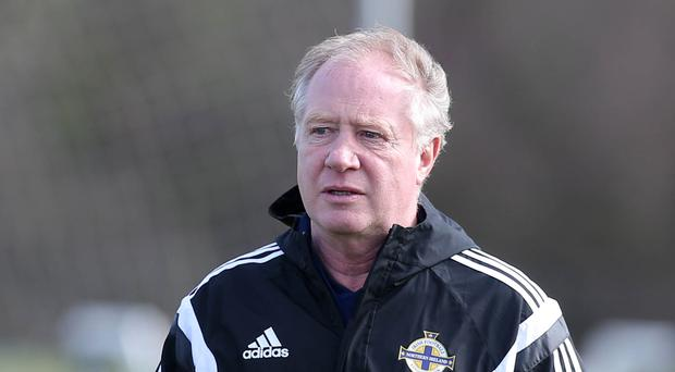 Northern Ireland Assistant Manager Jimmy Nicholl