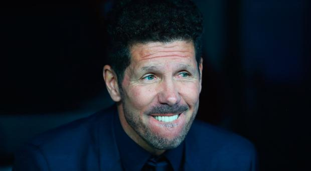 Everton are reportedly keen on luring Atletico Madrid's Diego Simeone to Merseyside. Photo by Clive Rose/Getty Images